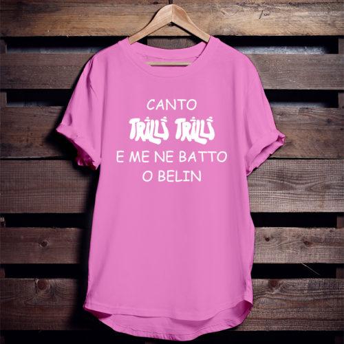 maglietta rosa
